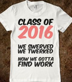 27fa5a32591 Class of 2016 shirt Senior Sweatshirts