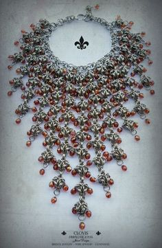 Chainmaille Necklace by Clovis Joyas