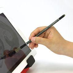 iPad用ペイントブラシ型スタイラス『Nomad Compose -Dual Tip– Long for iPad』
