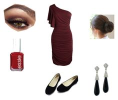 """""""Quick Formal"""" by spiritmist ❤ liked on Polyvore featuring Kenneth Jay Lane and Essie"""