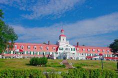 Hotel Tadoussac in Tadoussac #Quebec