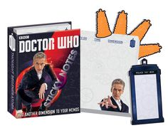 BBC Doctor Who Sticky Notes Notepads 12th Doctor Peter Capaldi