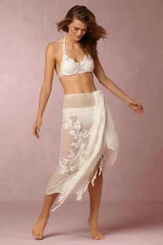 ffe439b08a34d1 Rosecliff Wrap for honeymoon from  BHLDN Belle Lingerie