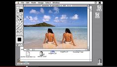 John Knoll demonstrates Photoshop version 1.7 . . . here's a look at Photoshop version 1.7.  It's really exciting to be part of Photoshop's 25 year history.   #photoshop #photoshoptips #photoshoptipsandtricks #60-seconds #60-second-windows