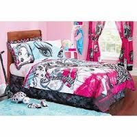 Monster High bedroom.....need this for missy