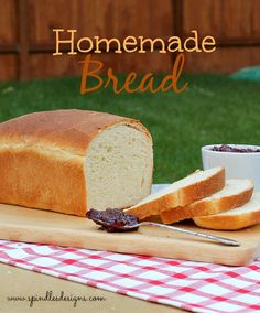 Homemade Bread from SpindlesDesigns.com