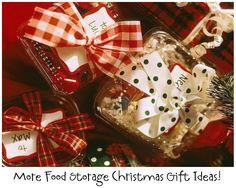Food Storage Christmas Secret Santa Ideas
