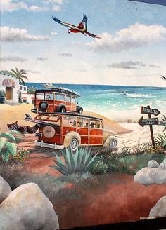 Huntington Beach wall art-3