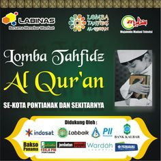 Backdrop Lomba Tahfidz Al Qur'an