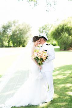 Romantic military wedding: http://www.stylemepretty.com/florida-weddings/winter-park-fl/2016/09/01/romantic-military-florida-summer-wedding/ Photography: Amalie Orrange - http://amalieorrangephotography.com/