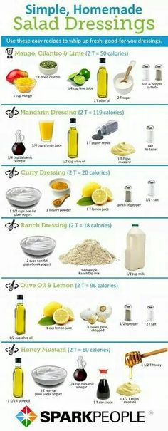 Healthy Homemade Salad Dressings is part of Homemade salad dressing healthy - Looking for a way to replace your store bought salad dressing We've rounded up some healthy salad dressing recipes with less sodium and calories that will liven up your salads Healthy Snacks, Healthy Eating, Healthy Recipes, Clean Eating, Simple Salad Recipes, Diet Recipes, Recipies, Healthy Habits, Dessert Recipes
