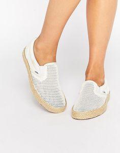 Imagen 1 de Zapatillas de deporte clásicas de malla sin cierres con suela de esparto de Vans