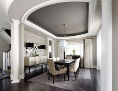 Interior design pictures of dining room. As a means of choosing your favorite interior design pictures of dining room. This awesome interior design pictures of dining room contain 16 fantastic design. Dark Ceiling, Colored Ceiling, Ceiling Color, Recessed Ceiling, Accent Ceiling, Office Ceiling, Ceiling Hanging, Bedroom Ceiling, Modern Ceiling