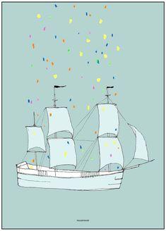This Ship Has Sailed - Print