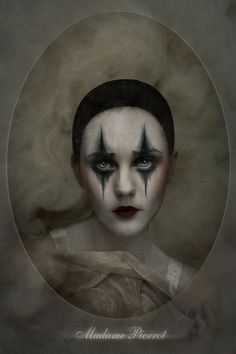 circus clown Madame Pierrot