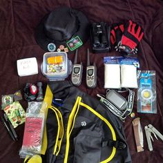 New bag, updated contents: Applied_Science's #Geocaching Gear http://coord.info/TB58Y0E. What's in your bag?