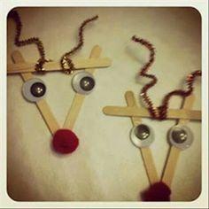 Easy reindeer kids craft