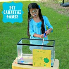 Make your own carnival games for your next party!