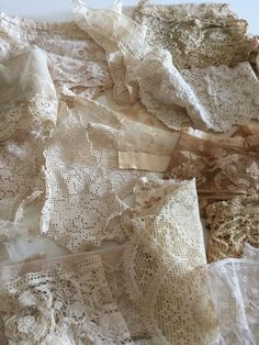 Fabulous French Lace Lot by tripletmom2 on Etsy