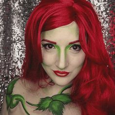 Adult Licensed Batman Movie /'POISON IVY/' Ladies Fancy Dress Costume