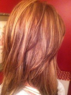 natural red hair with highlights and lowlights - Google Search