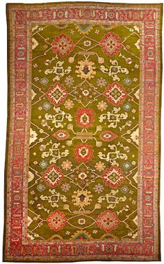 Ziegler Mahal carpet  Central Persia  late 19th century  size approximately 11ft. 4in. x 18ft. 11in.