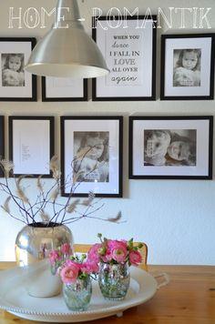 Home-Romantik: Bilderwand & Flowerday