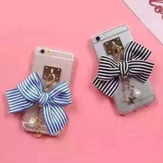AdoreWe - Gadget City Bow Accent Phone Case - iPhone 5/ 6 / 6 Plus / 7 / 7 Plus - AdoreWe.com