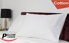 12-Pack Pillow Cases (20 Inches by 30 Inches) - 100% Cotton for Maximum Softness and Easy Care, Elegant Double-Stitched Tailoring (Queen, White) by Utopia Bedding -- For more information, visit http://www.amazon.com/gp/product/B00ENU34GK/?tag=ilikeboutique09-20&qr=150816062631