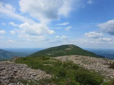 Bag three peaks in virtual solitude in the middle of summer on this gem atop Baxter State Park in Maine.