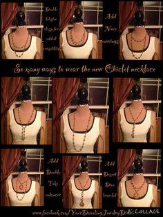 Chiclet necklace (thanks Dawn Marie Iannaco-Hahn).