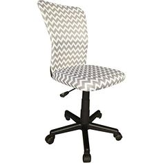Product Feautures Printed mesh chair is contemporary and stylish that can be used any room Breathable mesh seat fabric lets air circulate to keep you comfortabl...