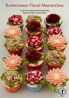 July Cake Masters Magazine: Buttercream Floral Masters Class