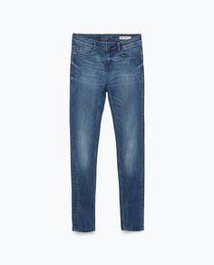 JEANS SKINNY TIRO MEDIO - Ver todo - Jeans - MUJER | ZARA España