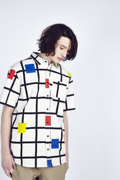 Lazy Oaf Square Grid Short Sleeve Shirt  http://www.lazyoaf.com/lazy-oaf-square-grid-short-sleeve-shirt-4