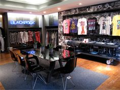 Showroom Design by Gala Magrina, via Behance