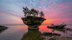 Turnip Rock, Michigan