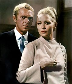 Faye Dunaway &  Steve McQueen, L'Affaire Thomas Crown,  1968
