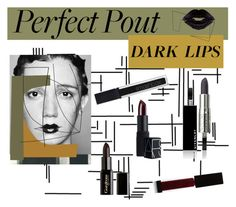 """""""Dark Lips Trend"""" by sarah-who ❤ liked on Polyvore featuring beauty, Dansk, Givenchy, Gorgeous Cosmetics, Smashbox, Surratt, NARS Cosmetics, BeautyTrend and Dark"""