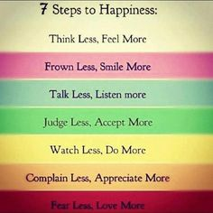 Steps to happiness! http://on.fb.me/VJ36er