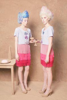 Jam Pot teeshirt, Grass skirt