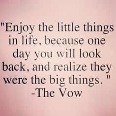 How true :/      -The Vow