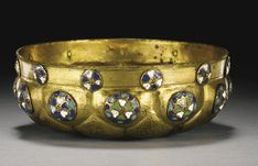 An Ottoman Tombak hammam bowl with enamelled bosses, Turkey 18th Century | Lot | Sotheby's