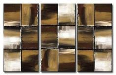 NATURAL CHECKERBOARD - SPLIT PANEL modern abstract painting, fully hand painted abstract canvas artwork framed gallery-wrap style and ready to hang with Free Delivery and fully guaranteed Modern Canvas Art, Abstract Canvas, Canvas Paintings, Hand Painted, Natural, Paintings On Canvas, Canvas Art Paintings, Painted Canvas, Painting Canvas Crafts