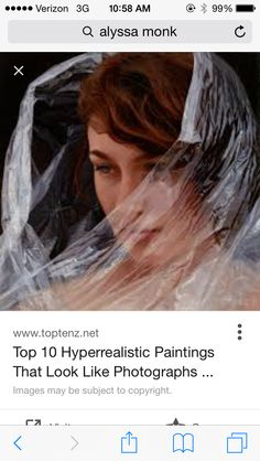 Robin Eley Oil On Belgian Linen Robins Linens And Oil - Artist creates stunning hyper realistic paintings of women