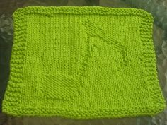 DigKnitty Designs: Music Note Knit Dishcloth Pattern - ;Could really do this to make any design