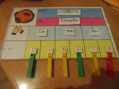 """En uno de mis coles, hemos empezado a trabajar """"El espacio"""", así que aquí os dejo, una manera de poder trabajar el vocabulario relacionado c... Bilingual Classroom, Classroom Language, School Hacks, Spanish Activities, Reading Activities, Teaching Tools, Teaching Resources, Dora, Guided Reading"""