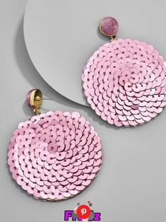 BaubleBar Queenie Sequin Drop Earrings Source by Rose Earrings, Bead Earrings, Tassel Earrings, Fabric Jewelry, Beaded Jewelry, Gold Jewellery, Earrings Handmade, Handmade Jewelry, Bijoux Diy