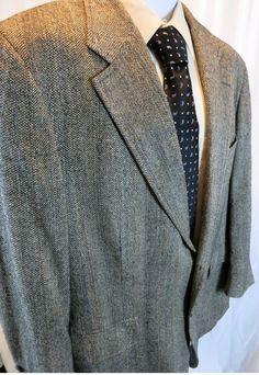 Tom James 2 Button Brown Sport Coat 40 ? Vintage | Brown sport ...
