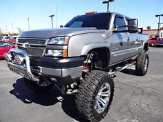 Chevrolet Silverado lifted trucks